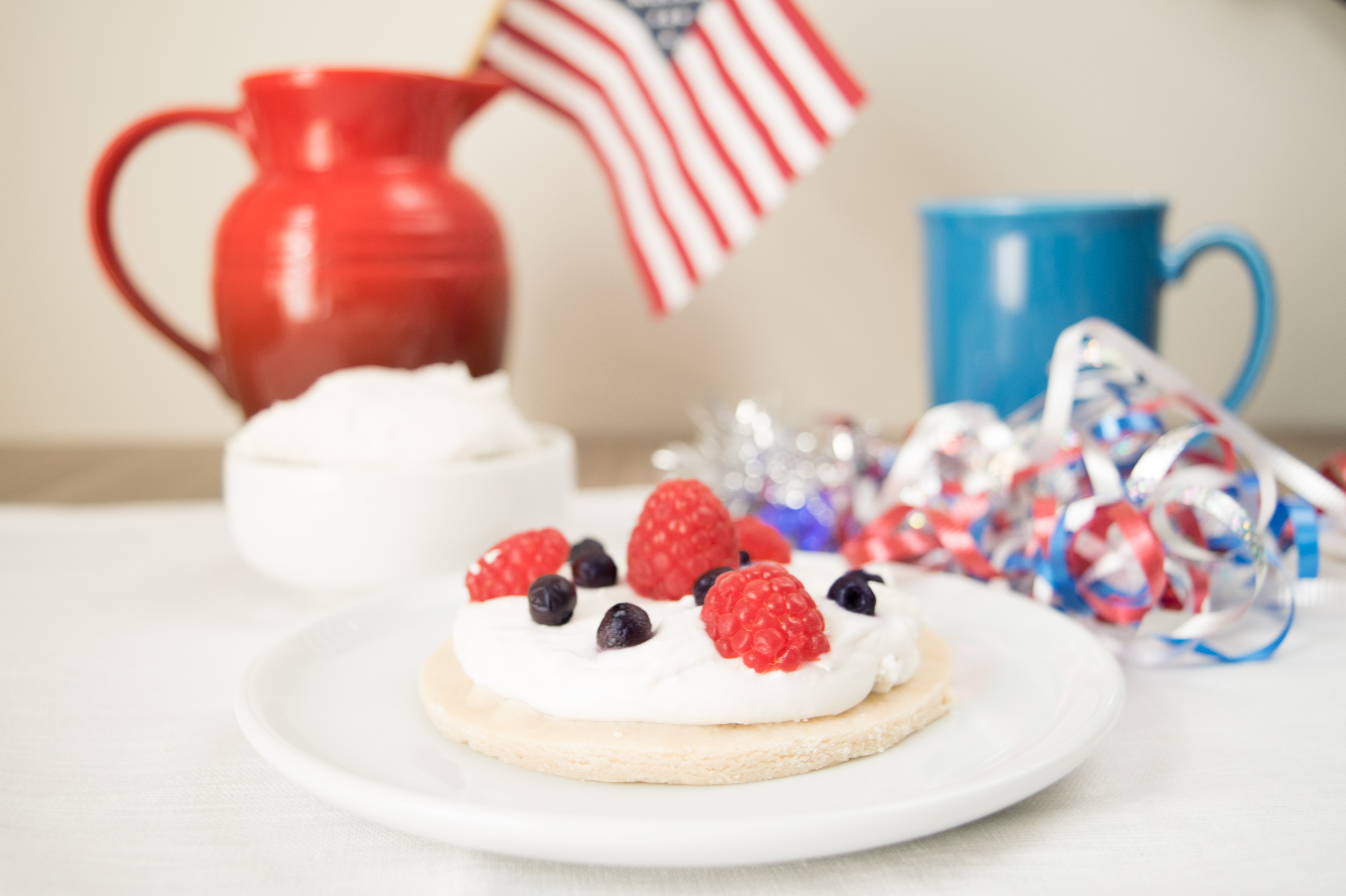 AIP 4th of July Berry Sugar Cookie Pies (without sugar!)