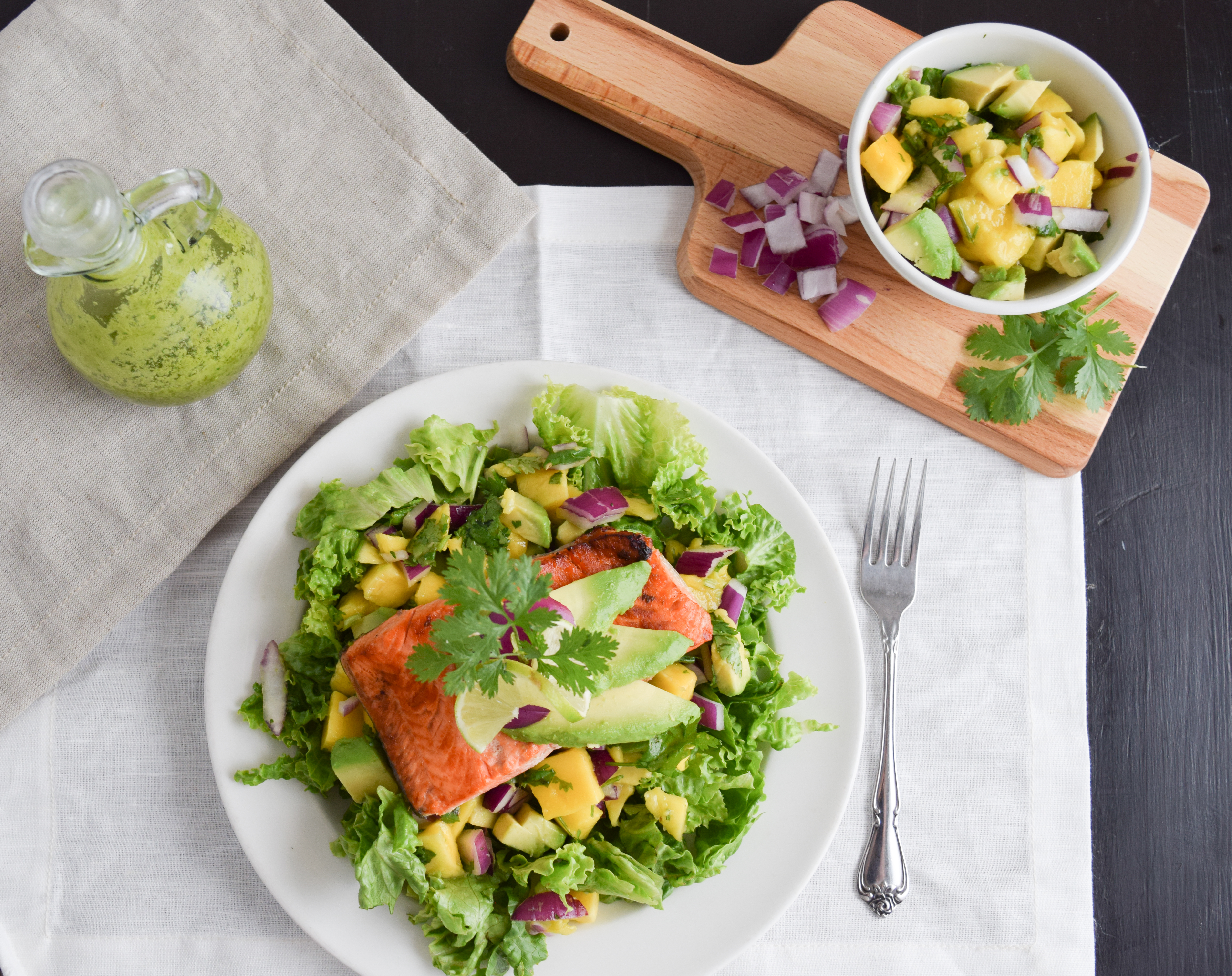 Southwest Salmon Salad (AIP/Paleo)