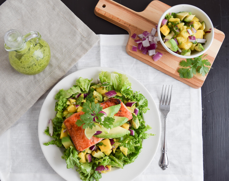 Southwest Salmon Salad (AIP/Paleo)