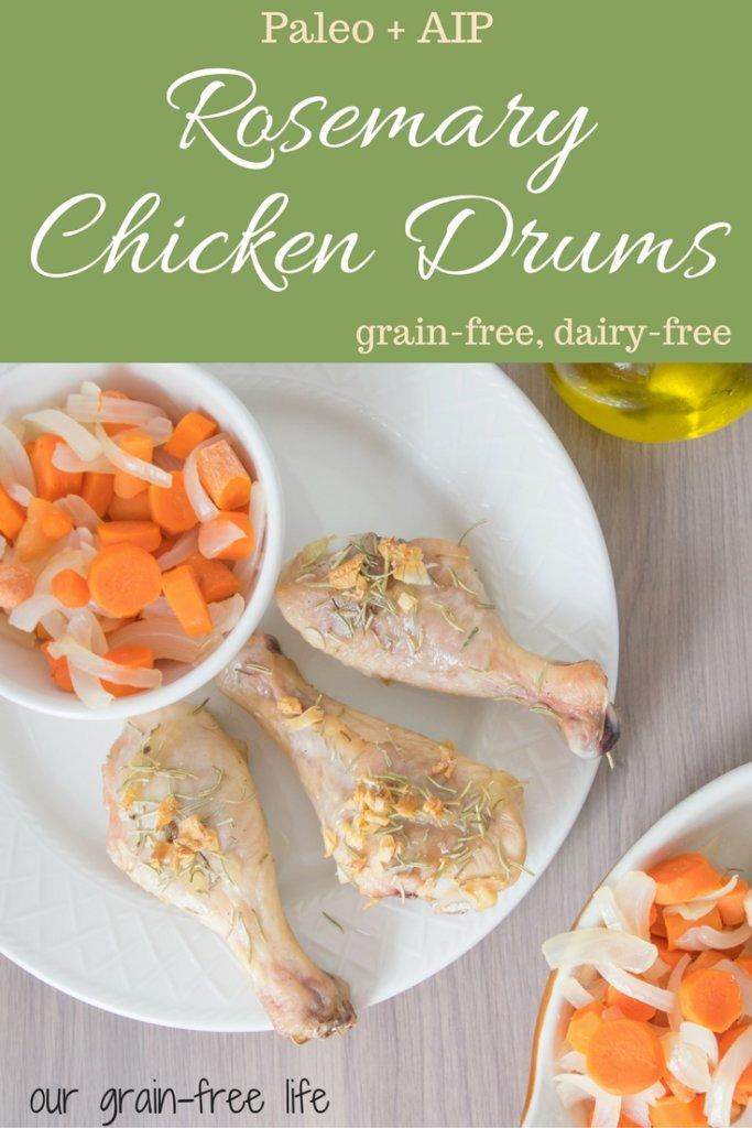 paleo rosemary chicken drums