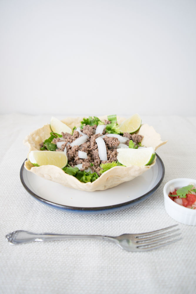 Paleo Taco Shell Bowl