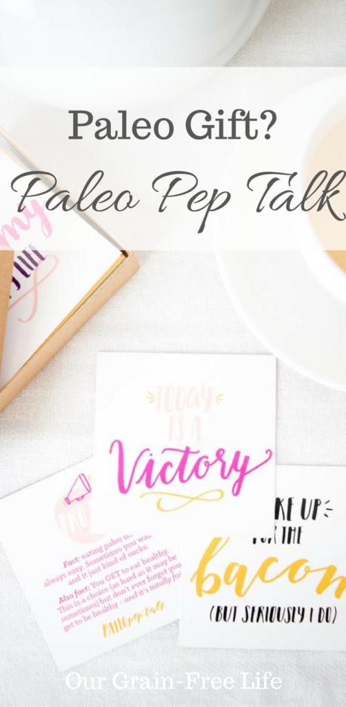 paleo pep talk