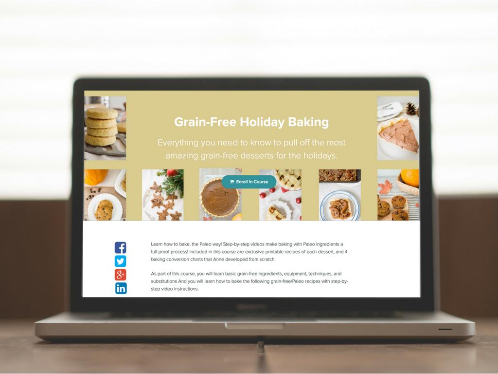 grain-free baking class