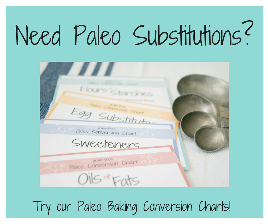 paleo conversion charts