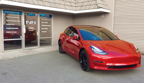 Tesla Model 3 Full Vehicle Xpel Paint Protection Film Wrap