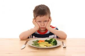 Child wont eat healthy