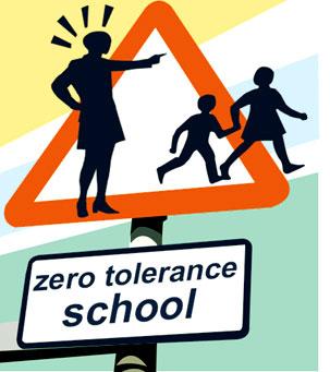Zero Tolerance Sign