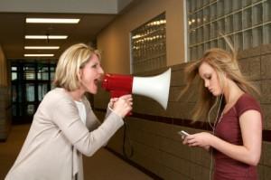 talknig to a teen