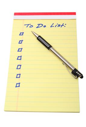 Blank To-Do List