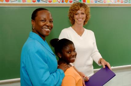 A Parent and Teacher Meet