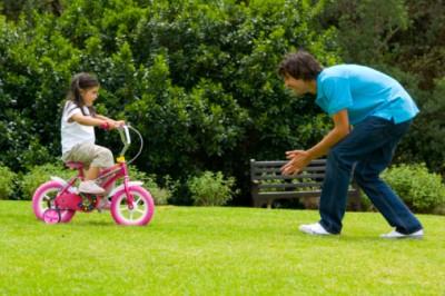 SPD Child riding a bike