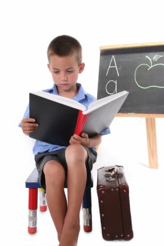 Child in First Grade