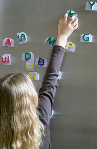 girl spelling
