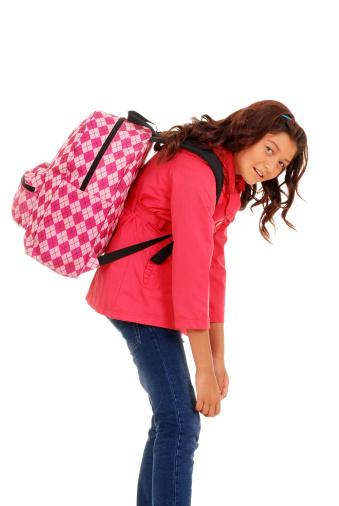heavy back pack