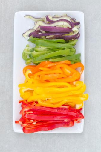 vegie rainbow