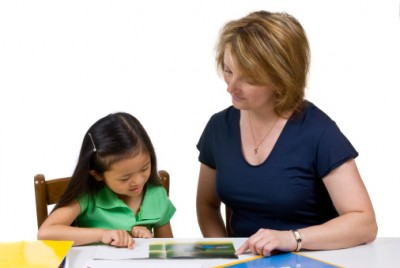 slp reading with a child