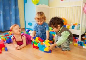 children learning through block play