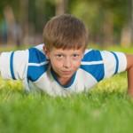 push-ups child
