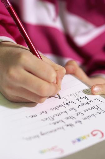 developing pencil grasp
