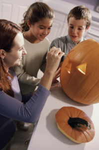 how to make carving a pumpkin a speech and language activity
