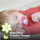 Does pacifier use cause speech and language issues?