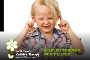 Toddler Won't Listen