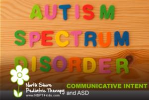 communicative intent and ASD