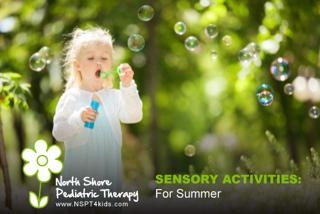 Sensory Activities for Summer