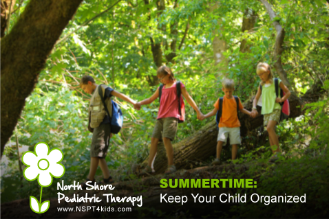 Keep Your Child Organized This Summer
