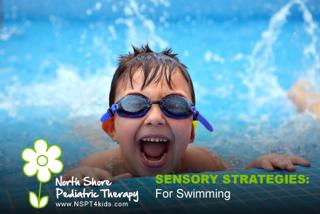 sensory strategies for swimming