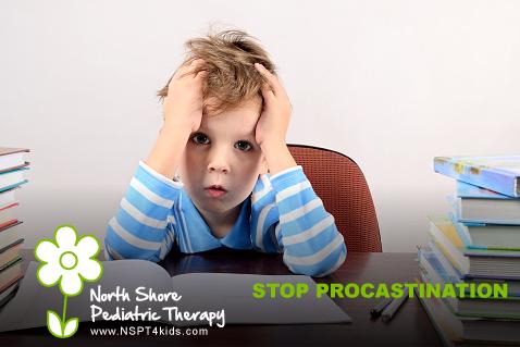 Help Your Child Stop Procrastinating