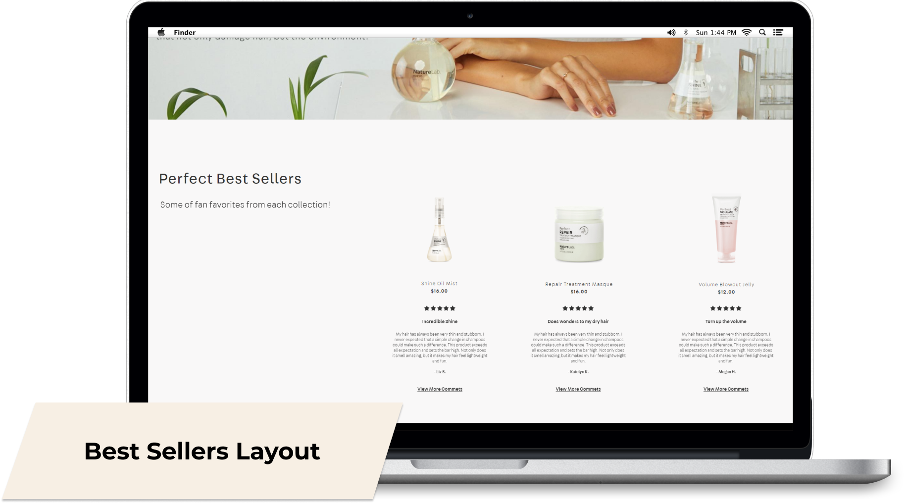 Best-Sellers-Layout