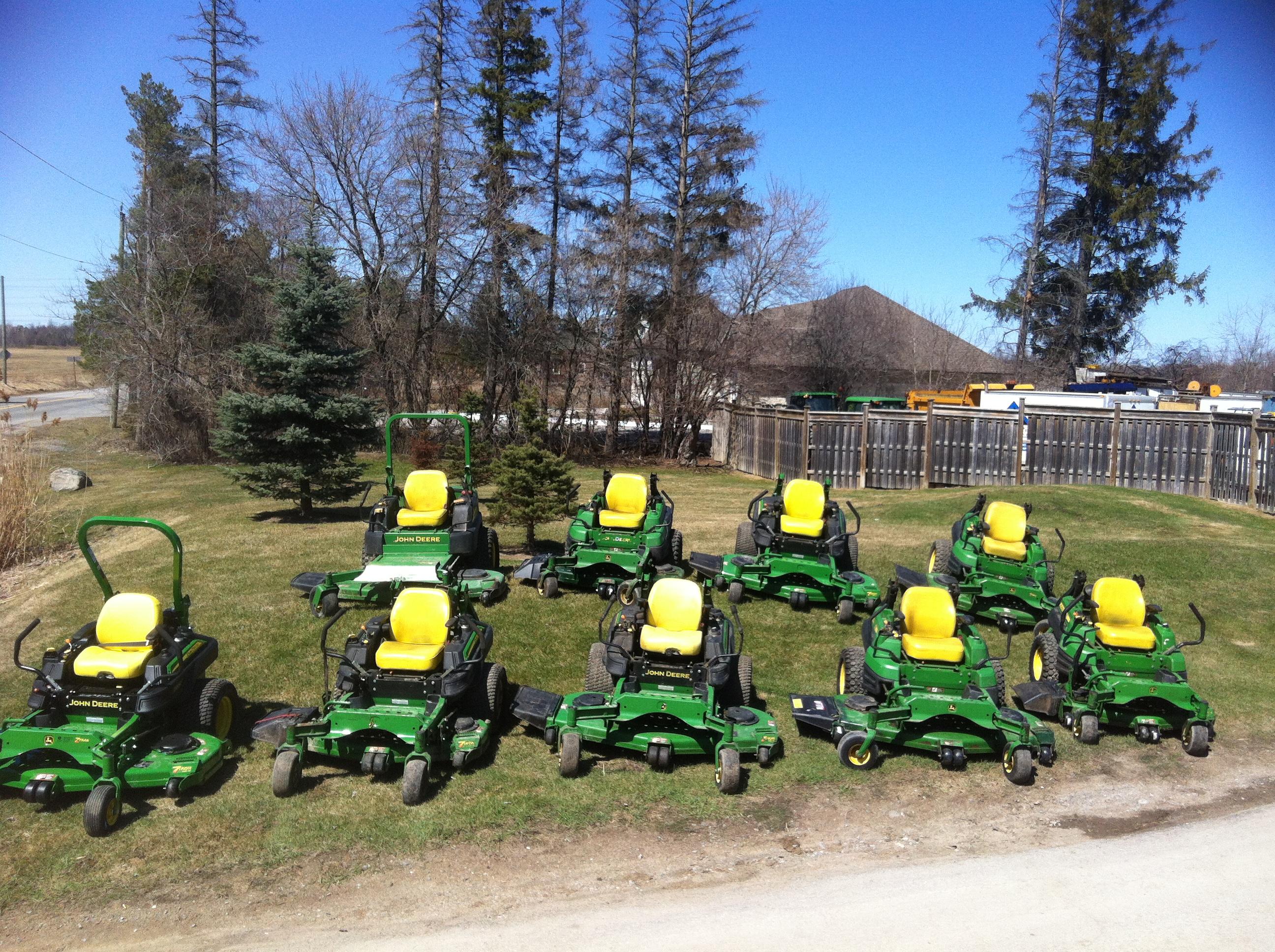 Landscaping Equipment Ajax