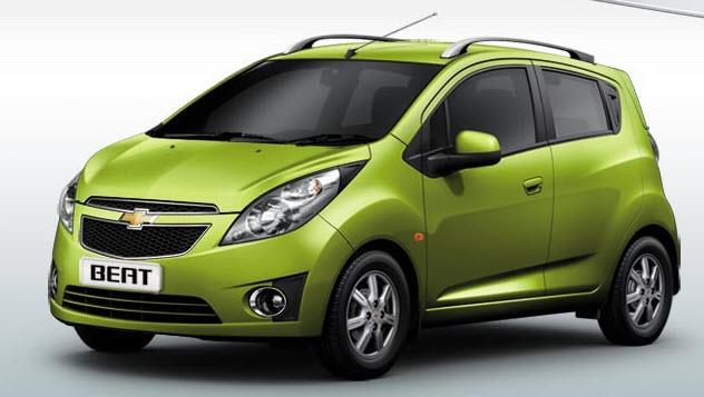 Chevrolet Beat-Green