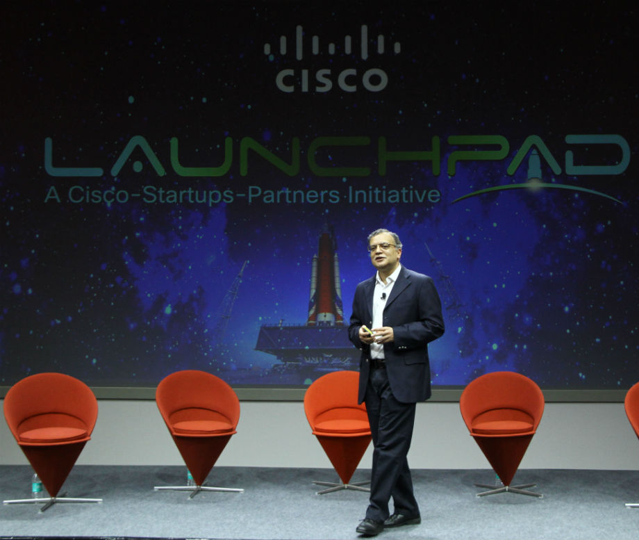 Amit Phadnis President Engineering and India Site Leader announces Cisco LaunchPad, innovation initiative to accelerate startups and support developer community.