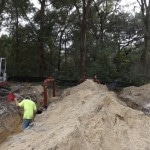 St. Theresa Roadway & Backflow Installation to Fix Water Connection Issues
