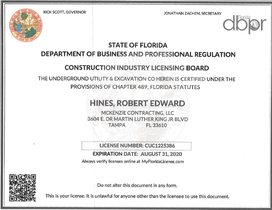 Certification 2020