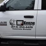 McKenzie Concrete Division Truck