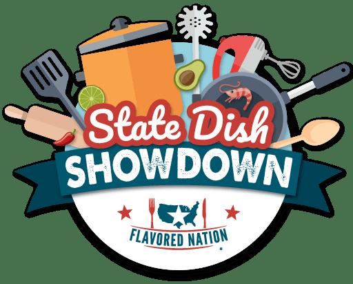 Flavored Nation State Dish Showdown Logo