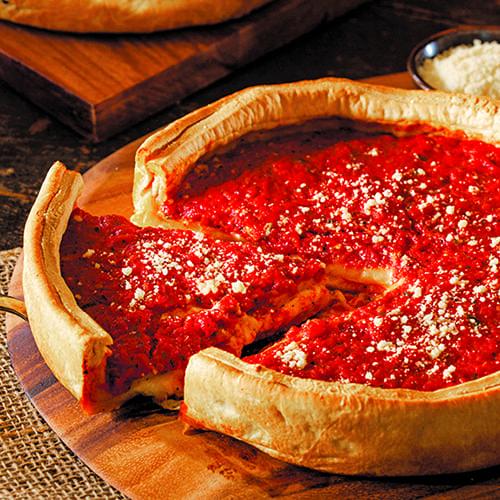 Illinois - Deep Dish Pizza