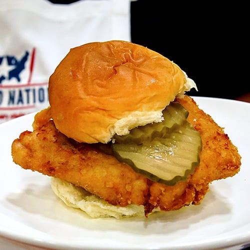 Indiana - Pork Tenderloin Sandwich