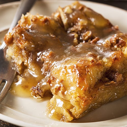Kentucky - Bourbon Bread Pudding