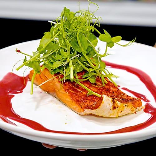 Washington - Cedar Plank Salmon