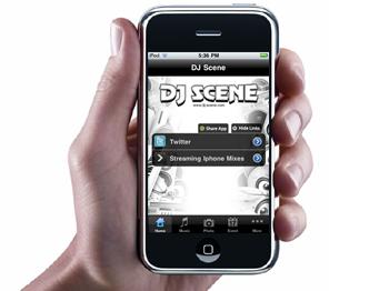 DJ Scene iPhone App