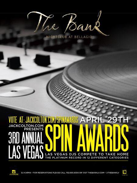 Scene wins 2012 BEST VEGAS POOL DJ!