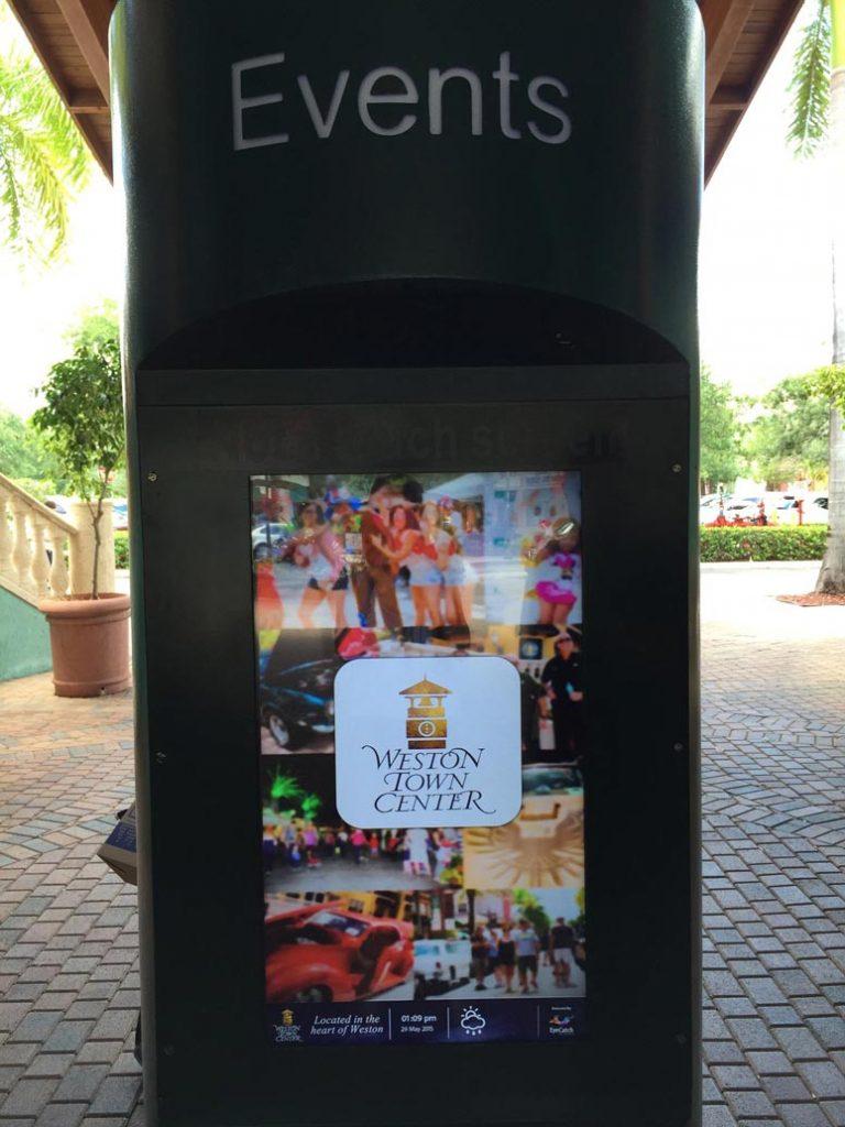 Digital Kiosk in Weston Florida