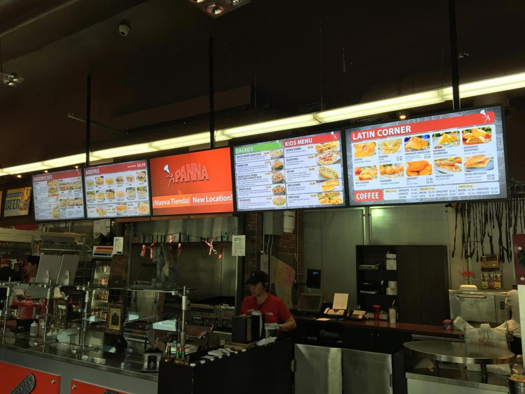 LED Digital Menu Boards