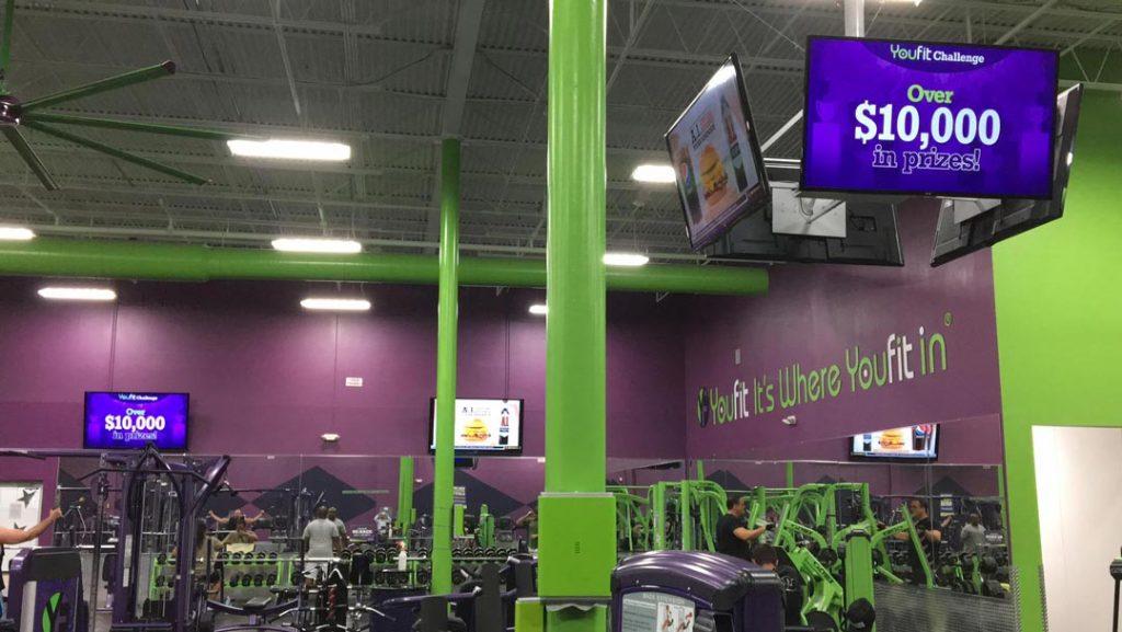 Health Club Digital Signage