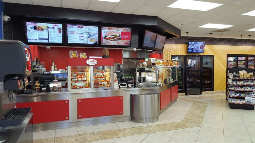 AutoPlaza Digital Menu Boards and Promotional Displays