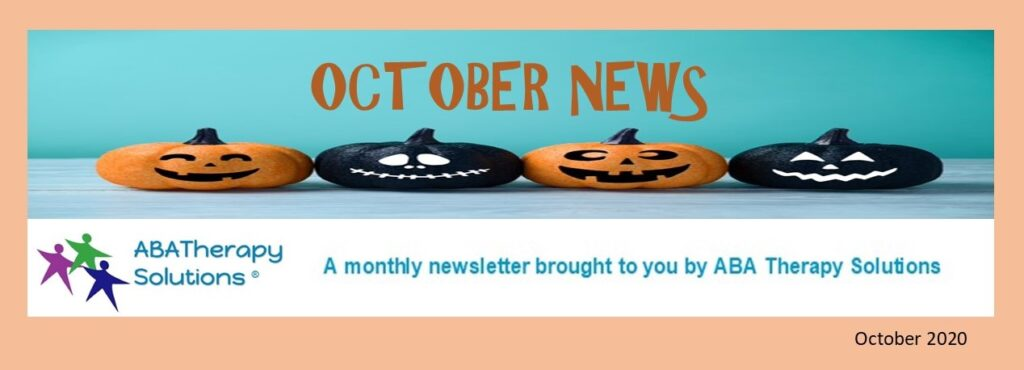 ABA Therapy Solutions' October Newsletter